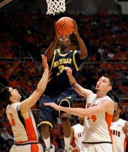 Michigan Illinois Basketball